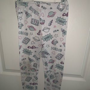 Toddler Girls  Carters Cute Pajama Pants Size 7